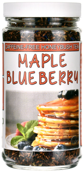 Maple Blueberry Honeybush Tea Jar
