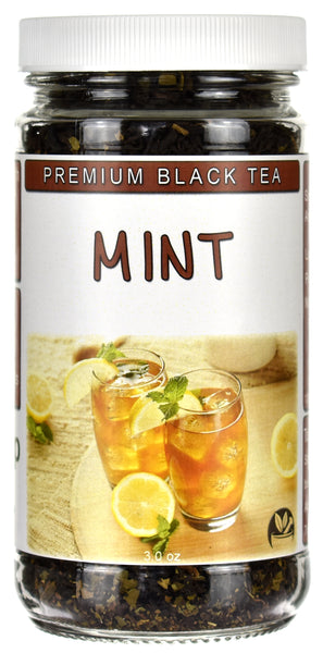 Mint Black Tea Jar