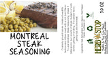 Montreal Steak Seasoning Label
