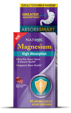 Natrol Magnesium Chewable Tablets