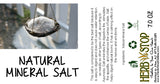 Natural Mineral Salt Label