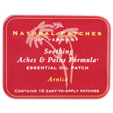 Natural Patches of Vermont Arnica Soothing Aches & Pains Essential Oil Patches