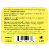 Natural Patches of Vermont Chamomile Soothing Migraine & Headache Formula