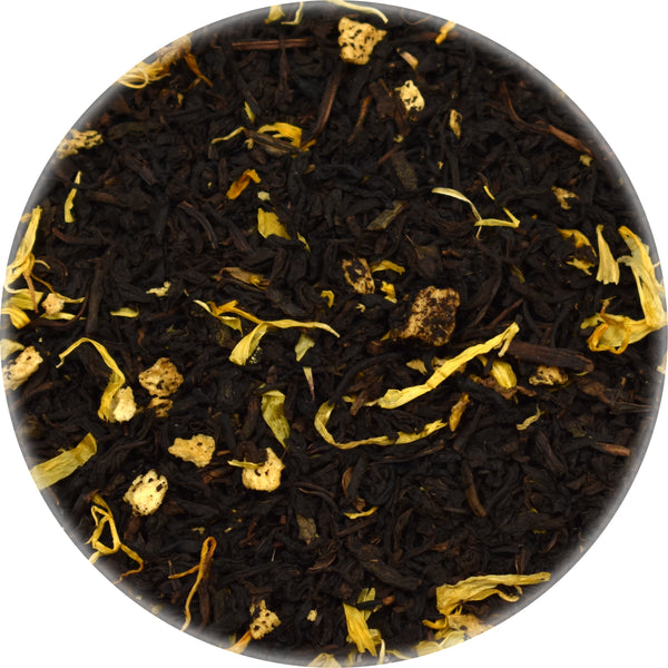 Peach CO2 Decaffeinated Black Tea Bulk Loose Herbs