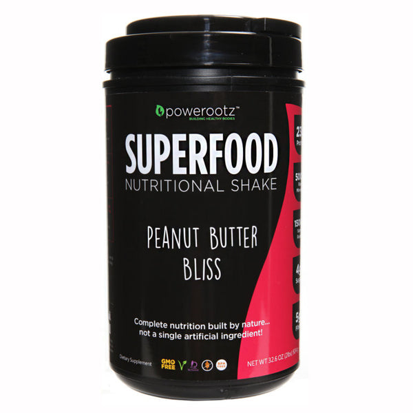 Powerootz SuperFood Peanut Butter Bliss Protein Shake