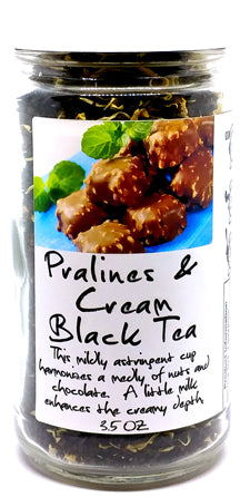 Pralines & Cream Black Tea Jar