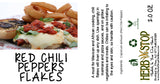 Crushed Red Chili Pepper Label