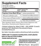 Restful Sleep Supplement Facts