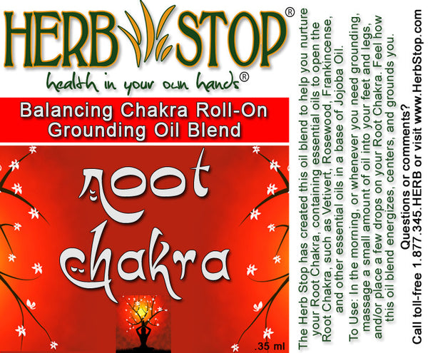 Root Chakra Roll-On Oil Blend