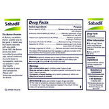 Sabadil Drug Facts