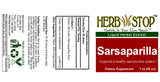 Sarsaparilla Extract Label