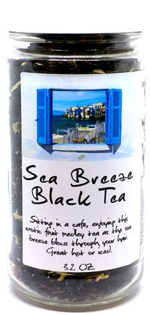 Sea Breeze Black Tea Jar