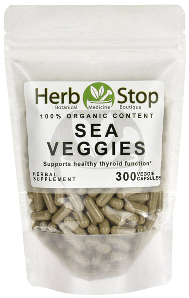 Organic Sea Veggies Capsules Bag