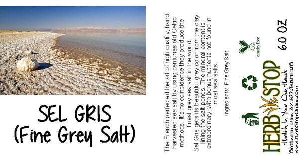 Fine Sel Gris Grey Salt Label