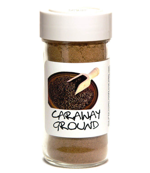 Caraway Seed Ground - Glass Spice Jar