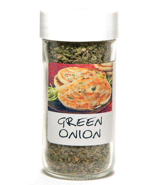 Green Onion Minced - Glass Spice Jar