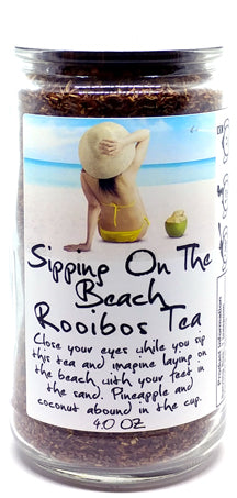 Sipping On The Beach Rooibos Tea Jar
