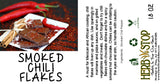 Smoked Chili Flakes Label