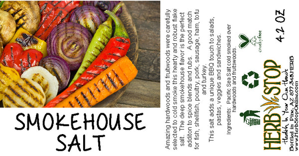 Smokehouse Salt Label