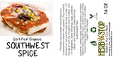 Southwest Spice Label