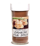 Chinese Five Spice Blend - Glass Spice Jar