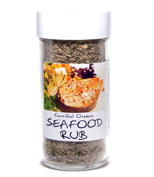 Seafood Rub - Glass Spice Jar