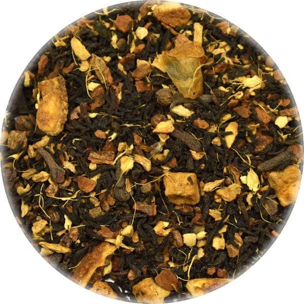 Spiced Apple Chai Premium Black Tea Bulk Loose Herbs