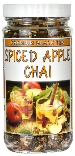 Spiced Apple Chai Premium Black Tea Jar