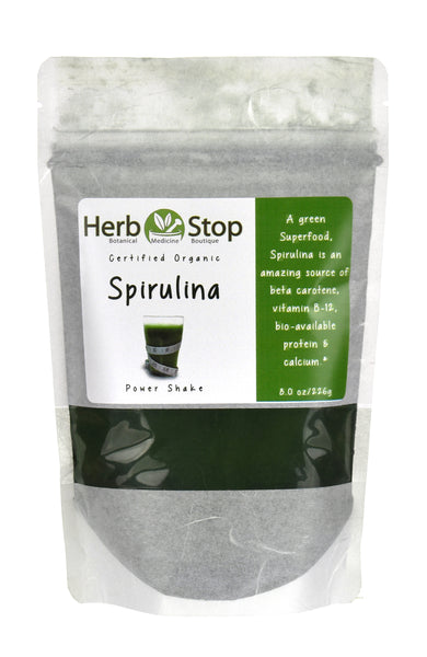 Spirulina Organic Powder Bag