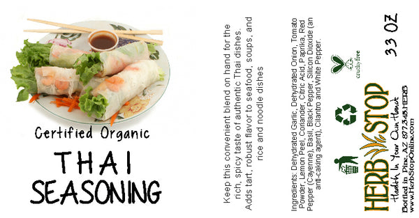 Thai Seasoning Label