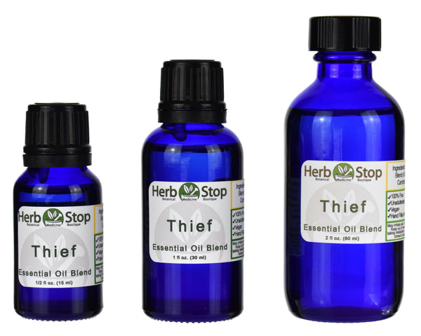 Thief Essential Oil Blend Bottles