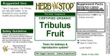 Tribulus Capsules Label