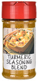 Organic Turmeric Seasoning Blend Spice Jar