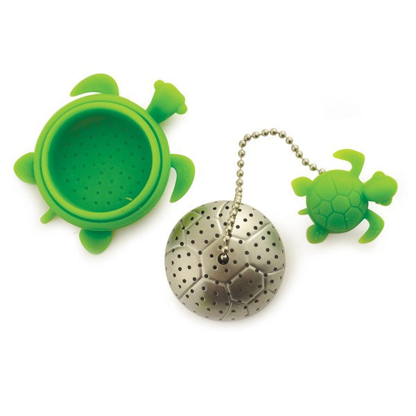 Turtle Tea Infuser Open