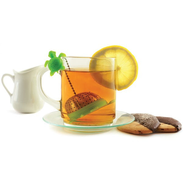 Turtle Tea Infuser Steeping