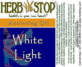 White Light Roll-On Oil Blend Label