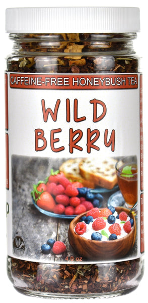 Wild Berry Honeybush Tea Jar