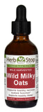 Wild Milky Oats Extract 2 oz Bottle