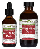 Wild Milky Oats Extract Bottles