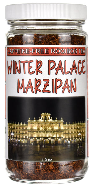 Winter Palace Marzipan Rooibos Tea Jar