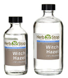 Organic Witch Hazel Extract Bottles