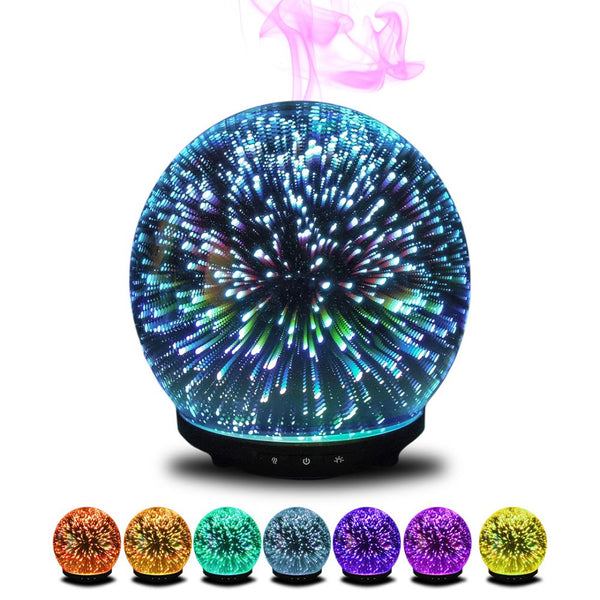 Gala Ultrasonic 3D aromatherapy diffuser multi-colors