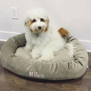 EMBROIDER A PET BED Have your Pets name on their Bed