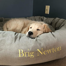 Load image into Gallery viewer, EMBROIDER A PET BED Have your Pets name on their Bed