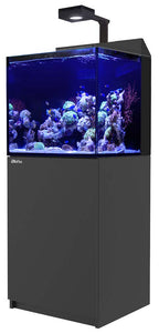 Red Sea MAX E-Series 170 Rimless Aquarium 45 Gallons with ReefLED 90 Light System - Black