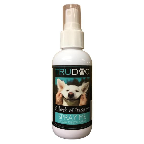TRU DOG Spray Me Natural Dental Spray 4 oz