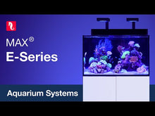 Load and play video in Gallery viewer, Red Sea MAX E-Series 170 Rimless Aquarium 45 Gallons with ReefLED 90 Light System - Black