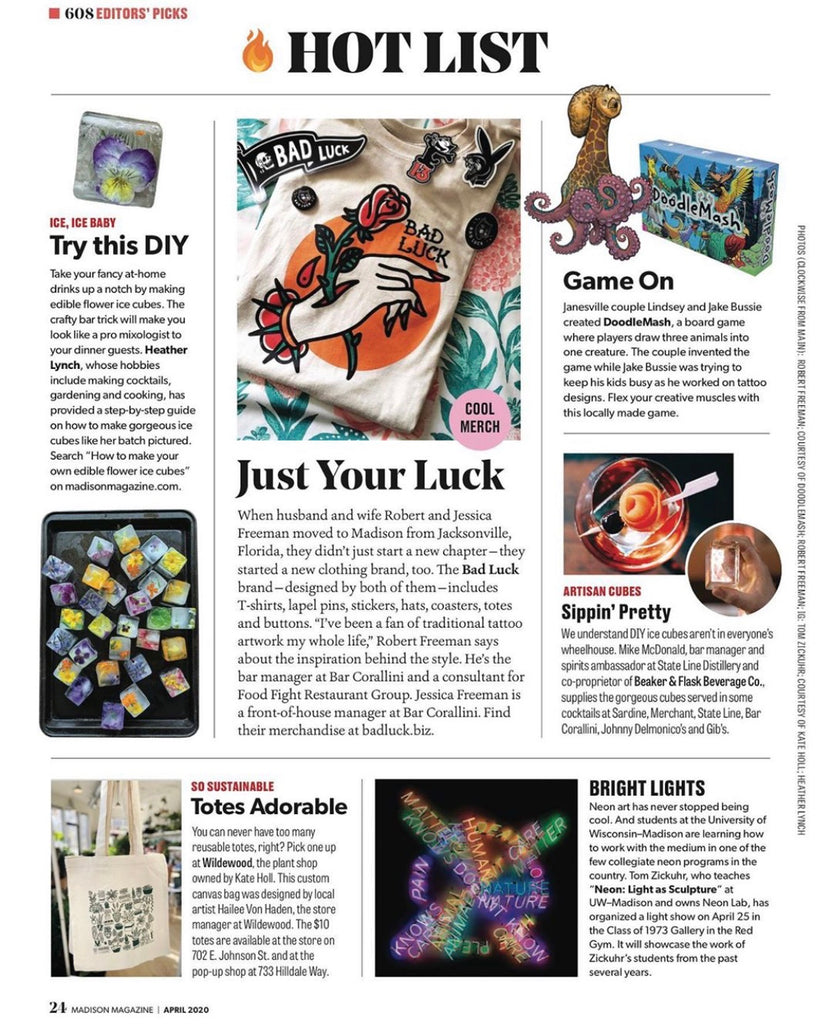 Madison Magazine Hot List April 2020