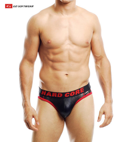 HARD CORE THROB Hi-Cut Brief