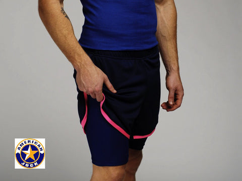 "A J 13"" Workout/Compression Short"